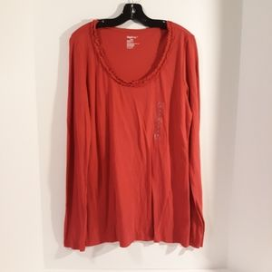 GAP Body L/S tee NWT women's top Size S